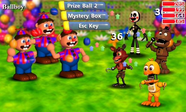 fnaf-world-ballboy