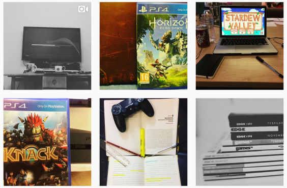 video-game-instagram