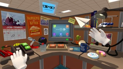 office in job simulator