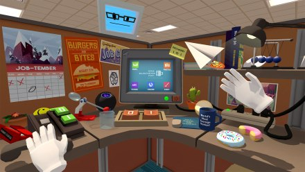 office in job simulator