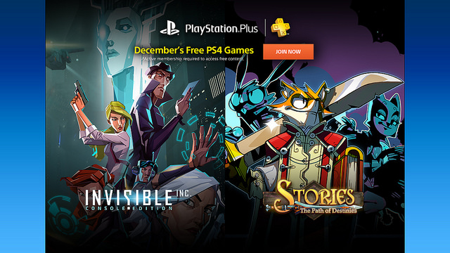 Your PS Plus Free Games For December 2016 – Musings of a