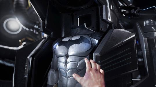 Batman Arkham VR batsuit