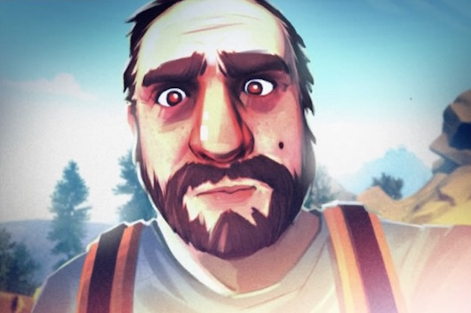 Firewatch Henry selfie