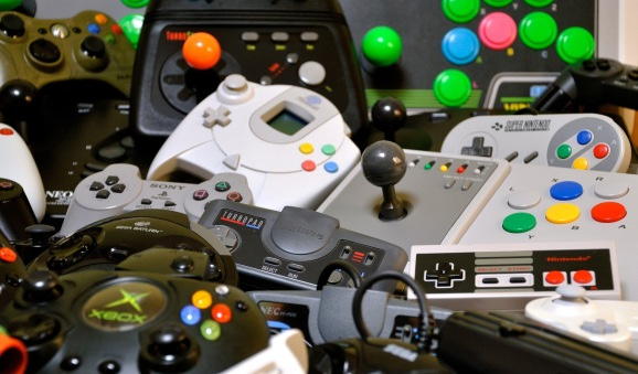 retro games controllers