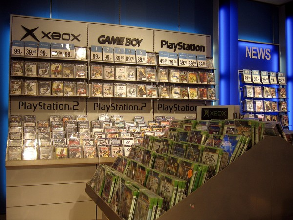 buying physical video game
