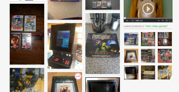 Shpock retro video games