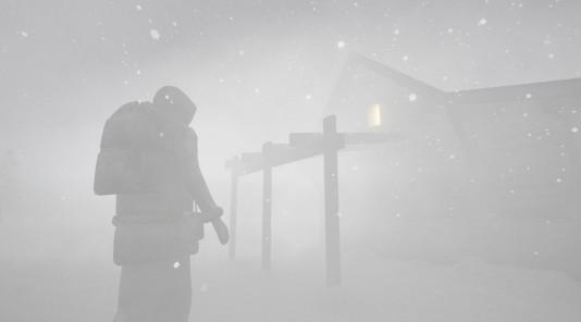 Storm VR snow