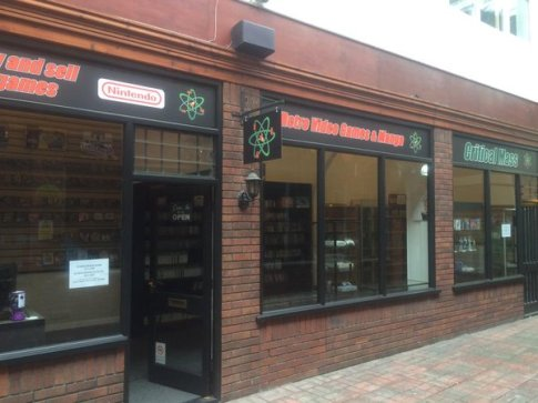 Critical Mass retro game shop in Exeter