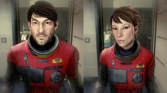 Male : female character in Prey