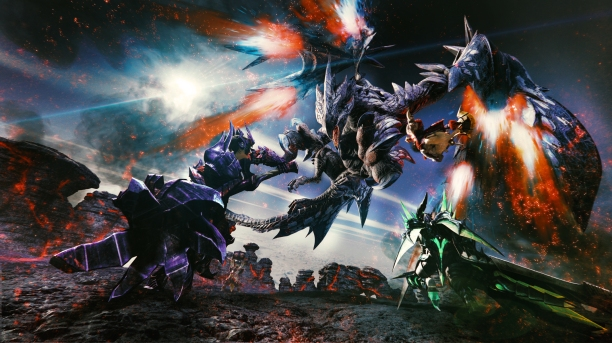 Monster Hunter gameplay