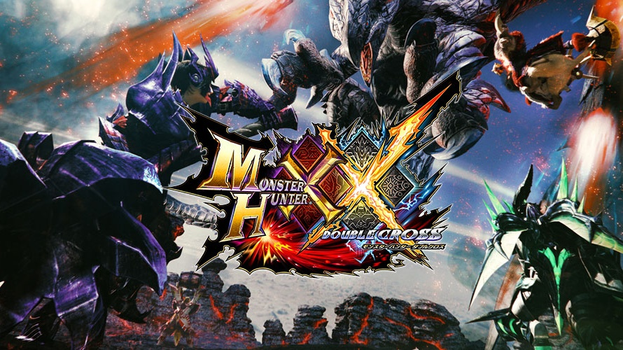 Monster Hunter XX Title