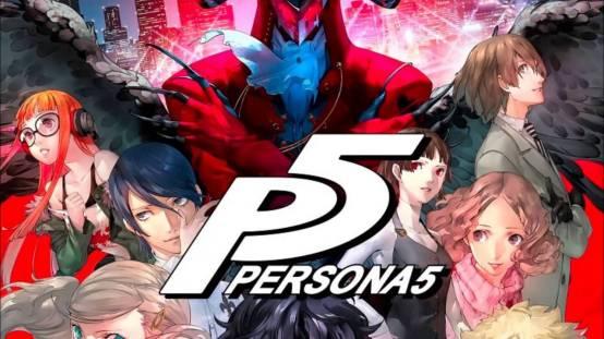 Persona 5 characters header
