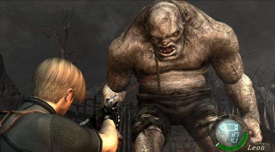 Resident Evil 4 El Gigante Boss gameplay