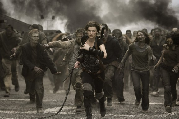 Resident Evil film screenshot
