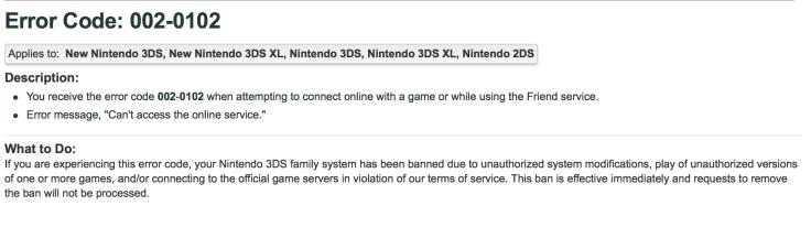 Nintendo error code 002-0102