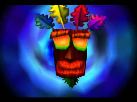 Aku Aku mask Crash Bandicoot