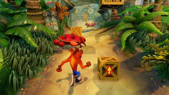 Crash Bandicoot remaster gameplay