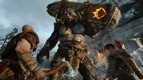 God of War PS4 E3