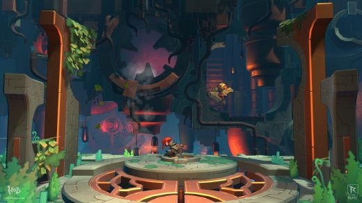 Hob PS4 gameplay