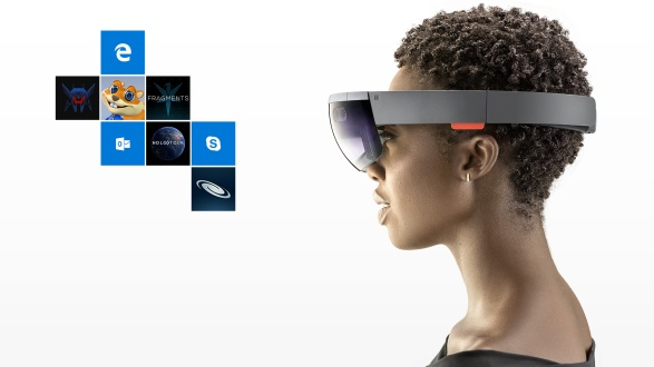 HoloLens mixed reality headset