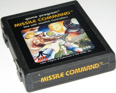 Missile Command retro game