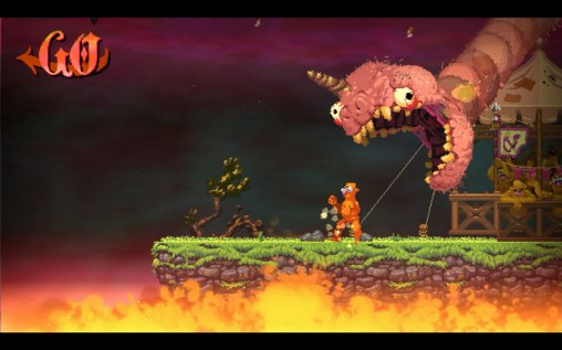 Nidhogg 2 PS4 gameplay