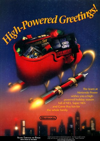 Nintendo Christmas ad - NES, SNES, Game Boy