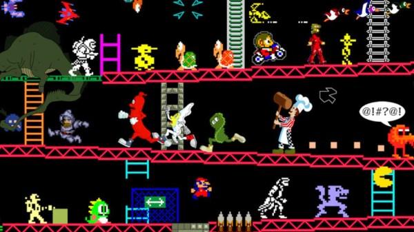 retro gaming characters