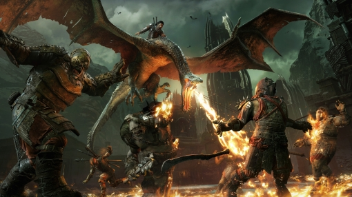 PS4 middle earth: shadow of war screenshot