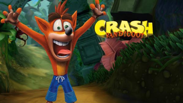 Crash Bandicoot remaster header image