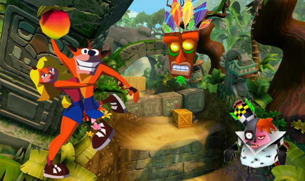 Crash Bandicoot questions