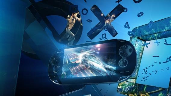 PS Vita advert with Nathan Drake
