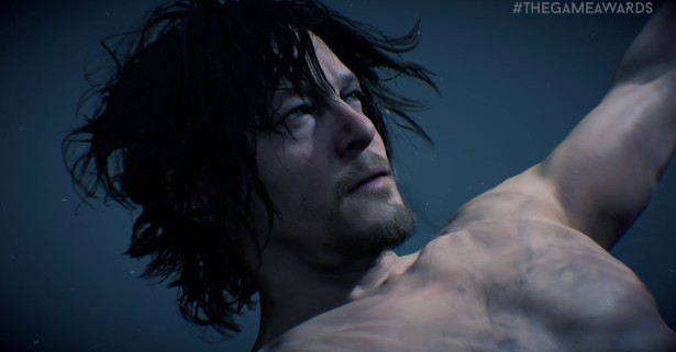 Death Stranding The Game Awards trailer underwater scene