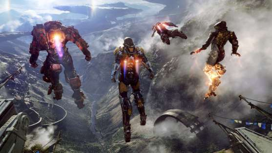 Anthem suits gameplay