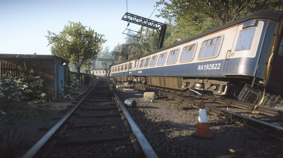Everybody's Gone To The Rapture train