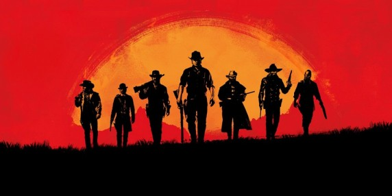 RDR 2 Key art