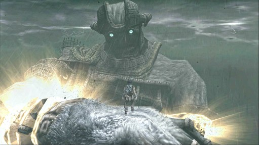 Shadow of the Colossus final boss battle PS4