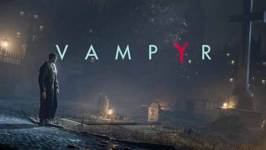 Vampyr PS4 key art