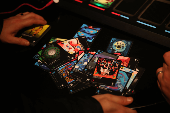 dropmix cards and gameplay