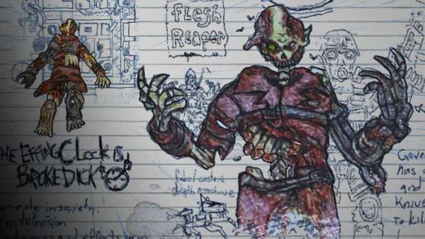 drawn to death character