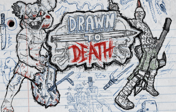 Drawn to Death game title