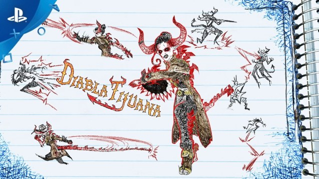PS4 drawn to death Diabla character highlight