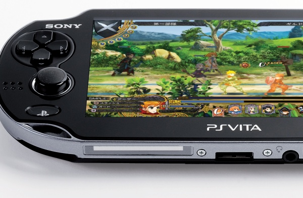 PS vita playing jrpg