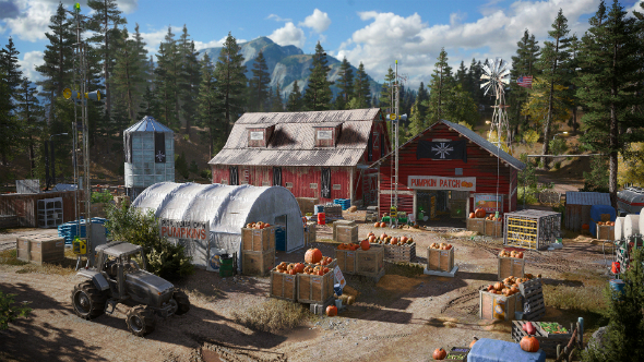 Far Cry 5 barn