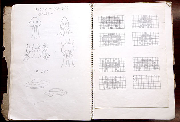 Space Invaders Concept Art