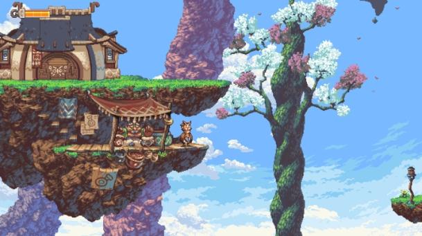 Owlboy Nintendo Switch gameplay