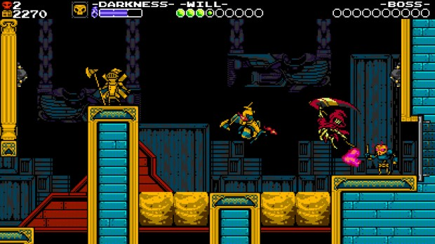 Shovel Knight gameplay Nintendo Switch