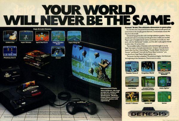 Sega Genesis Ad