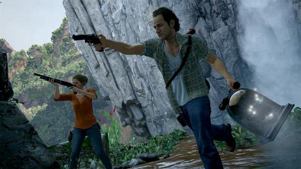 uncharted shooting