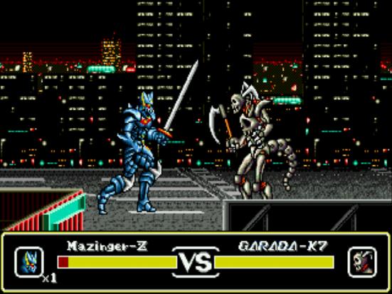 Mazin Saga gameplay genesis